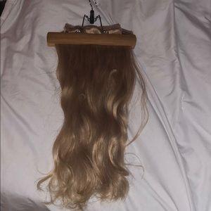 "Bellami human hair extensions, blonde 18"""
